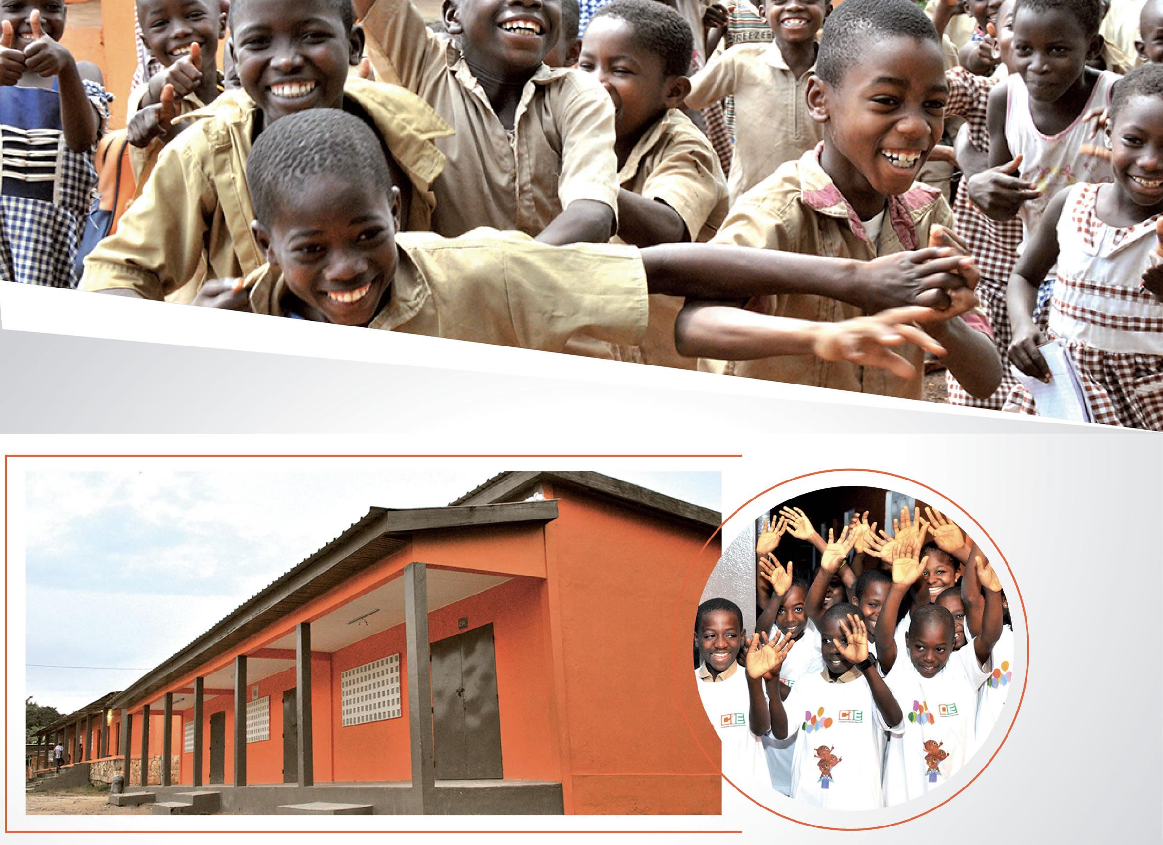 Lumière sur l'éducation : La CIE réhabilite des établissements de l'intérieur du pays